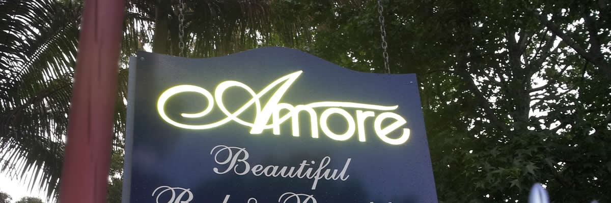 Amore is only 100 metres from Gallery Walk.