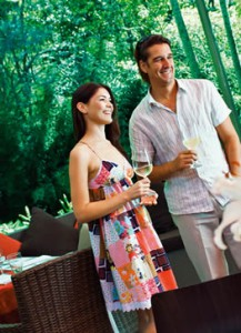 Restaurants throughout Tamborine Mountain in rainforest settings or overlooking valleys and mountains