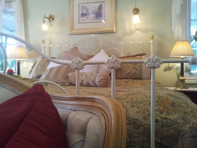 Antique furnishings complement your accommodation in Tamborine