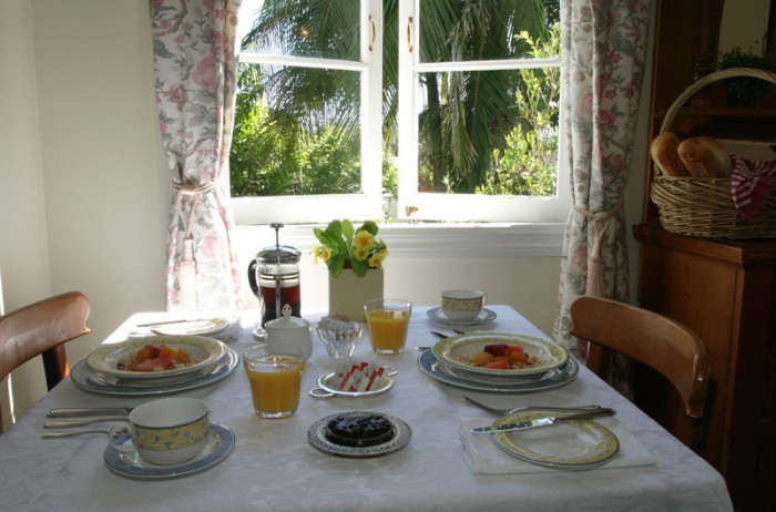 The Breakfast and Dining Room is located on the ground floor adjacent to the Guests lounge room. Mt Tamborine is a great place to stay and Amore BandB is the perfect place for accommodation.