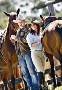 Horse riding is only 20 minutes drive away from your Tamborine accommodation.