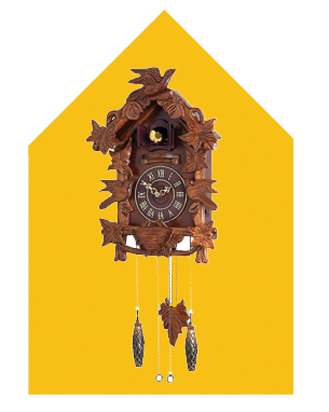 Cuckoo clocks in Mt Tamborine - gift and craft shops of Gallery Walk, down the road from Amore B&B
