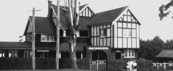 The original Eagle Heights Hotel