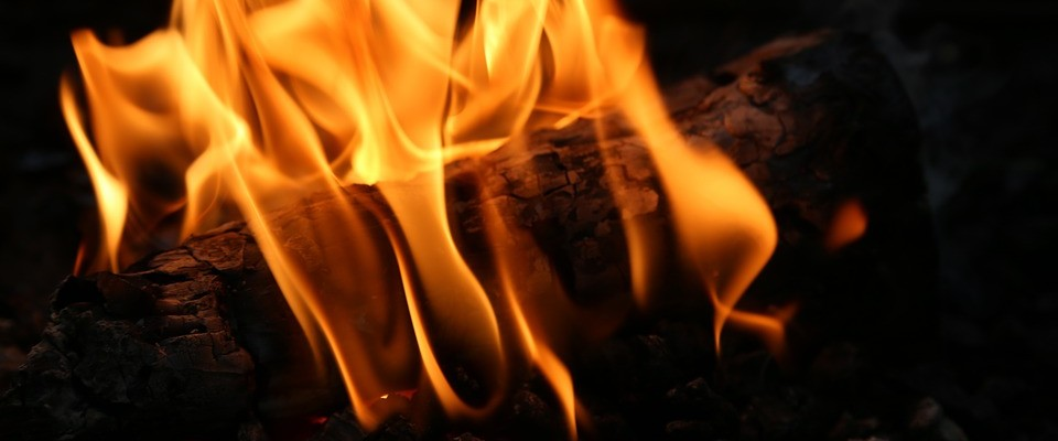 The fireplace is blazing and the glowing embers are so,so soothing.