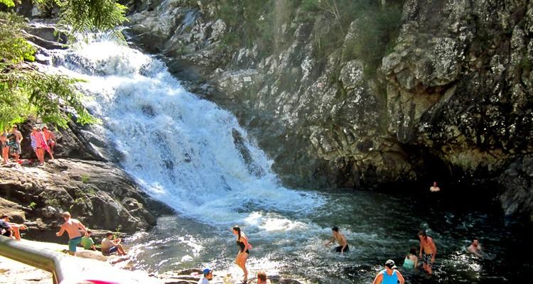 Cedar Creek Cascades and Rock Pools
