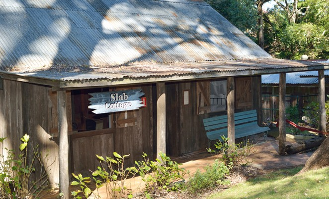 Slab-hut cottage