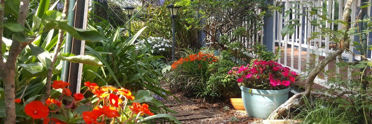 Amore garden walk.